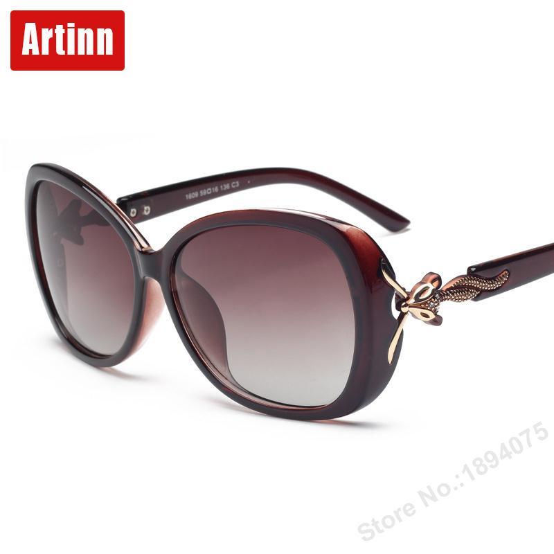 fox head polarized sunglasses personality elegant fashionable women UV glasses M1609