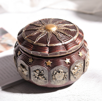 Twelve Constellations Music Box Crafts Light Castle Sky Decoration Accessories Valentine's Day Birthday Gifts Music Box LFB448