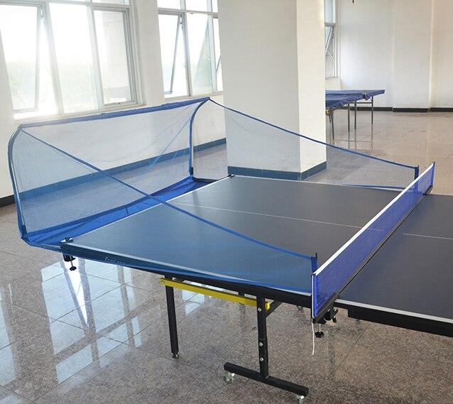 Folding table tennis ball set ball machine training recycling tennis multi ball grid