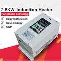 2.5KW высокочастотный нагрев DIY Набор индукционного нагревателя