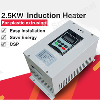 2.5kw aquecimento de alta frequência diy kit aquecedor de indução unidade de aquecimento por indução