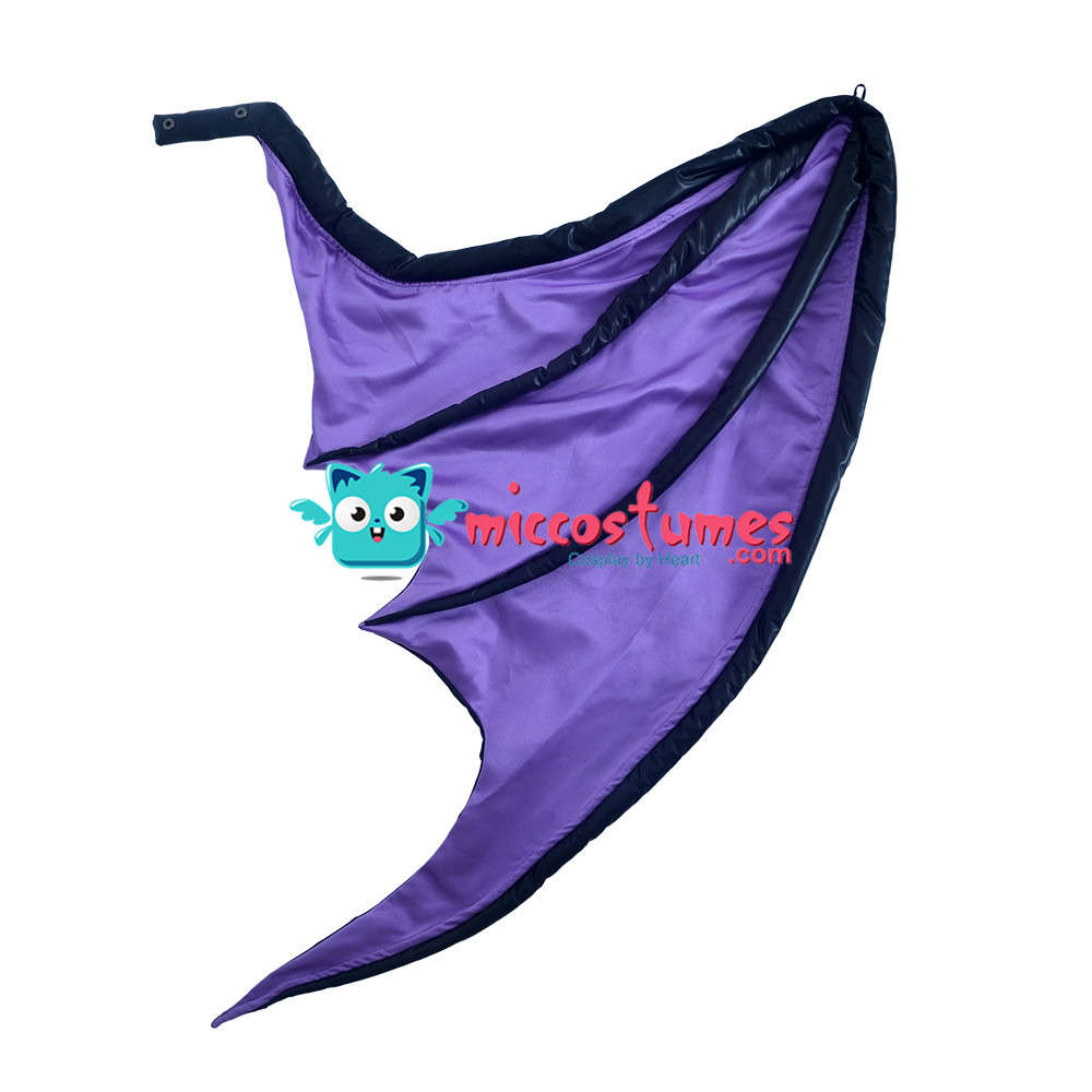 Image 4 - Morrigan Aensland Cosplay Costume with Wings Whole Set Outfit-in Movie & TV costumes from Novelty & Special Use
