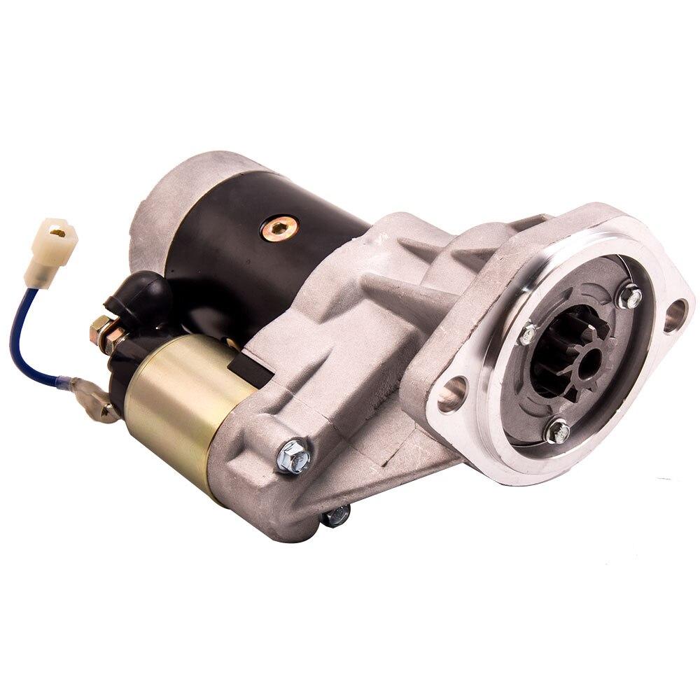 Motor de arranque para Holden Rodeo TF 4WD Turbo 4JA1 4JB1 2.5 2.8L 3.0L 87-04 para Jackaroo diesel TF 4WD 4JA1 4JB1-T Turbo diesel