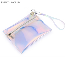 2017 Fashion Summer Hand Bag Female Wristlets Day Clutches Hologram Woman Purse Bag Causal Envelope Bag Small Party Purse