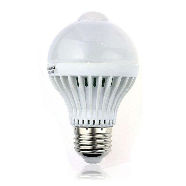LightInBox  E27 5W 220 VWhite Night Lighting For Household and Party 18LED Motion Control PIR Sensor light Lamp Bulb