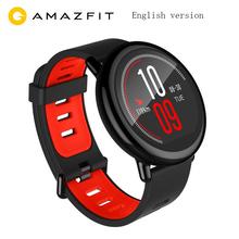 Nowy inteligentnego zegarka Huami Amazfit Pace Smartwatch GPS Smartwatch urządzenia przenośne smart watch es 1 2 GHz 512 MB 4 GB dla Xiaomi IOS w języku angielskim wersja tanie tanio 320 x 300 pixel Passometer Nastrój tracker Uśpienia tracker Naciśnij wiadomość Tętna Tracker Tracker fitness Wiadomość przypomnienie