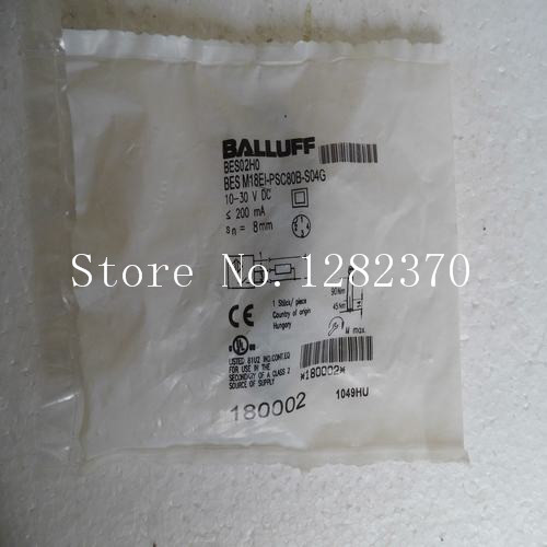 [SA] New original special sales BALLUFF sensor switch BES M18EI-PSC80B-S04G spot[SA] New original special sales BALLUFF sensor switch BES M18EI-PSC80B-S04G spot