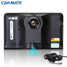 New 7 inch Android Car GPS Navigation with Rear View Reversing Camera Car dvrs Vehicle Gps WIFI AVIN Navitel/Europe map