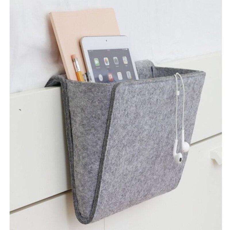 Aliexpress.com : Buy Felt Fabric Hanging Sofa Side Storage