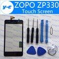 Zopo Zp330 Сенсорный Новый Замена Дигитайзер Стеклянная Панель Экрана Тяга Для ZOPO ZP330 Черный В Наличии Бесплатная Доставка