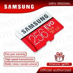 Original SAMSUNG Micro SD karte 32 GB Class 10 Speicher Karte EVO + EVO Plus microSD 256 GB 128 GB 64 GB 16 GB TF Karte cartao de memoria