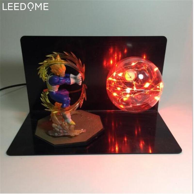 Led Table Lamps Diligent Leedome Figure Dbz Dragon Ball Lamp Ac90-260v E27 Bulb Son Goku Night Light For Boy Kid Bedroom Decor Fixtures Home Art Lighting Relieving Heat And Sunstroke