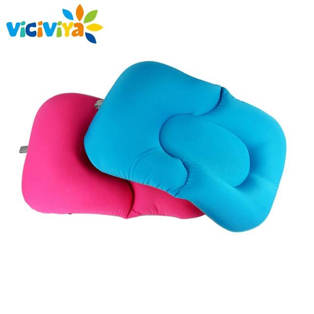 Non-Slip Baby Bath Mat Foldable Newborn Baby Security Bathing Seat bath tub/bed/pad/chair/shelf baby shower nets^