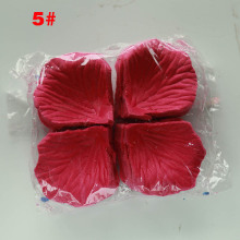 1000 шт лепестки роз Свадебные аксессуары Petalos De Rosa Свадебные украшения Искусственные тканевые Свадебные лепестки роз