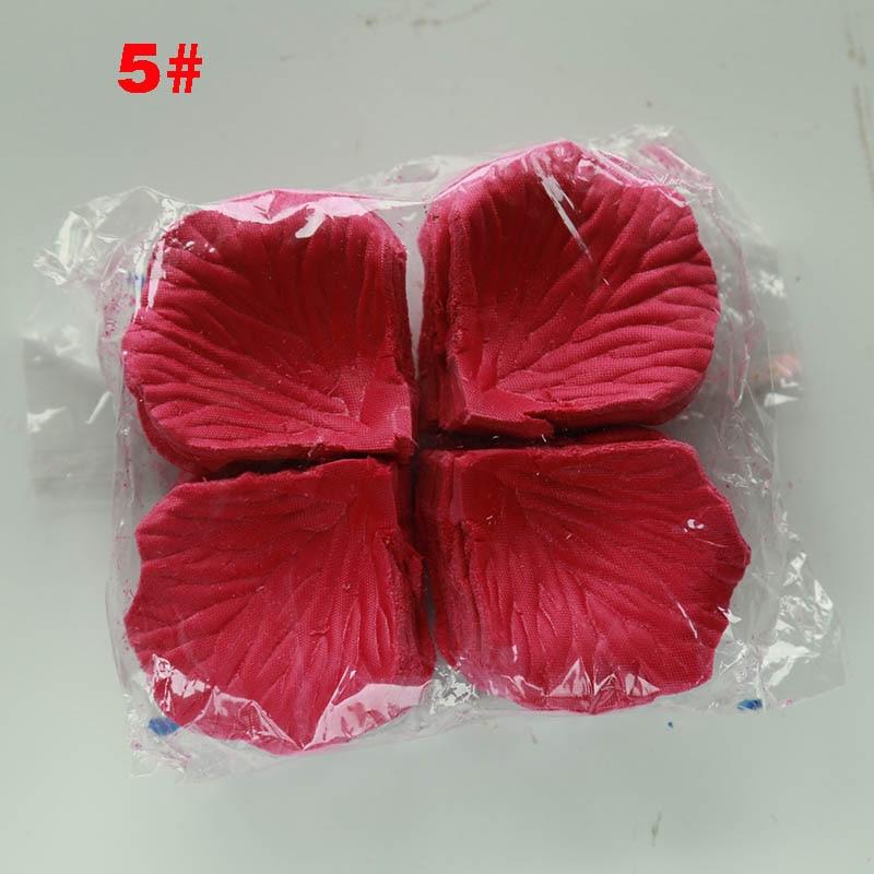 1000pcs Rose Petals wedding accessories Petalos De Rosa Wedding Decoration Artificial Fabric Wedding Rose Petals