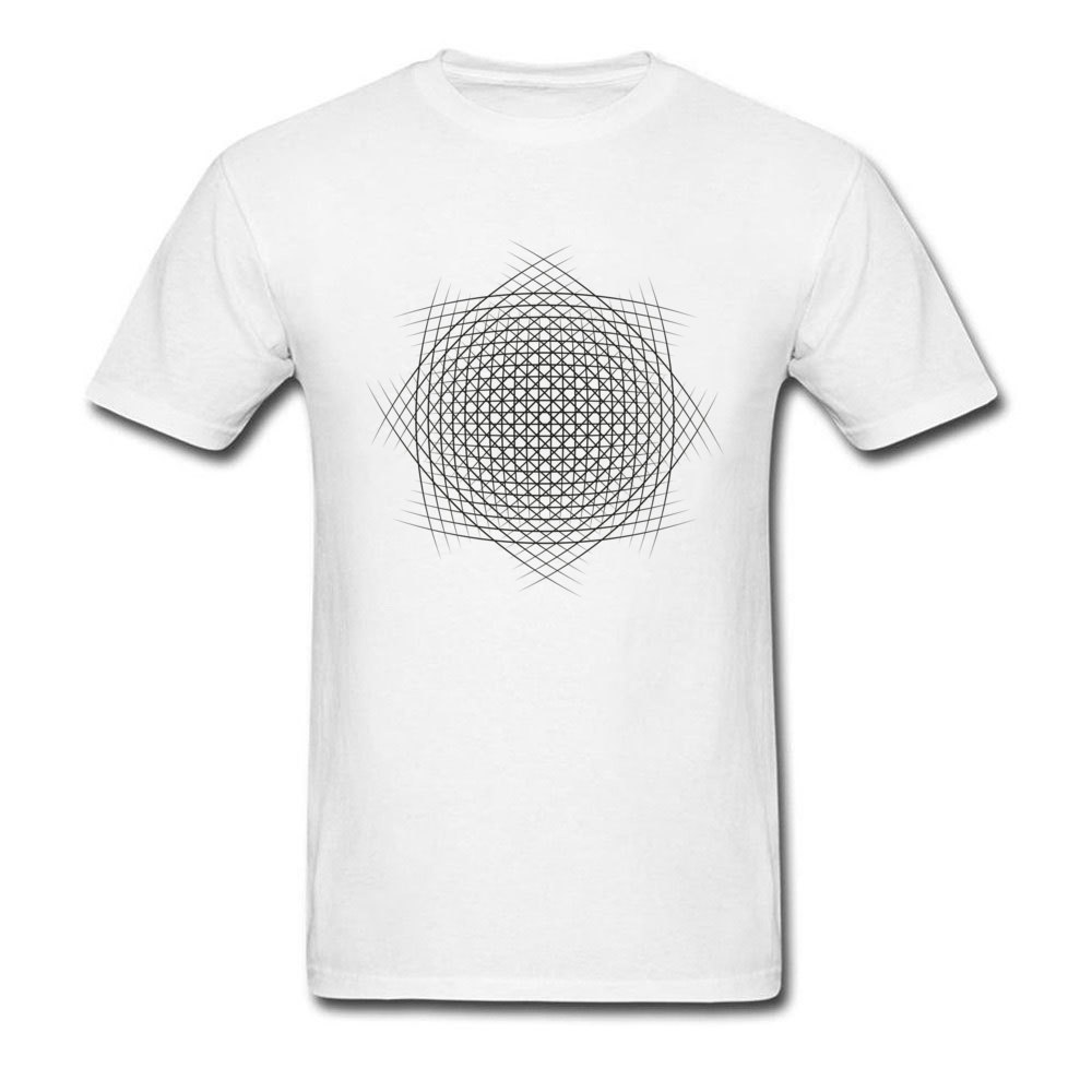 Unisex T-Shirt,Abstract Line Art Fashion Personality Customization