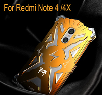 Metal Aluminum Alloy Frame Bumper For Xiaomi Redmi Note 2 3 4 4X Shockproof Cover Anti