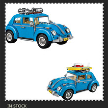 Free Shipping 2017 New LEPIN 21003 1193Pcs Volkswagen beetle Model Building Kits Bricks Toys Compatible with