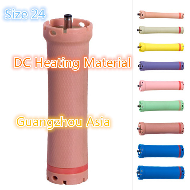 hot sale hair perm tool Hair curling rod accurate temperature control DC material rod water-proof digital perm rod size 24