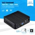 El más nuevo Mini Ordenador PC Celeron J1800 2.41 GHz Dual Lan Diseño Micro Industrial Sin Ventilador Cliente Ligero Windows7 OS 2 * Lan