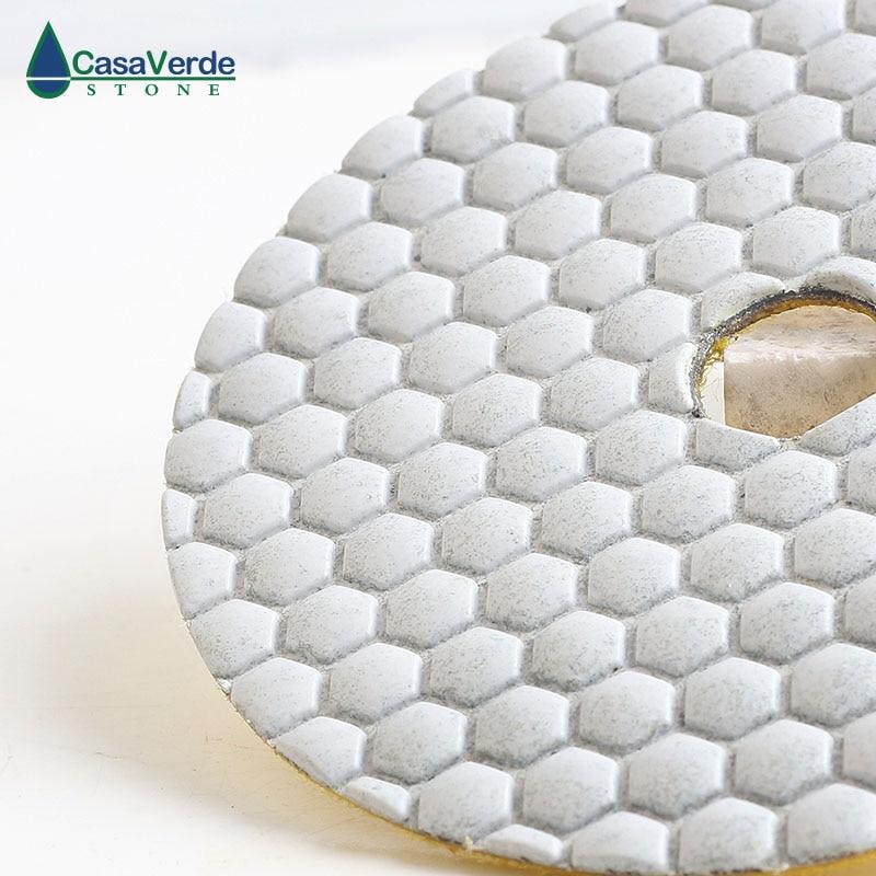 DC-AWHPP03 5 colių 125 mm deimantų sauso poliravimo pagalvėlės - Elektriniai įrankiai - Nuotrauka 4