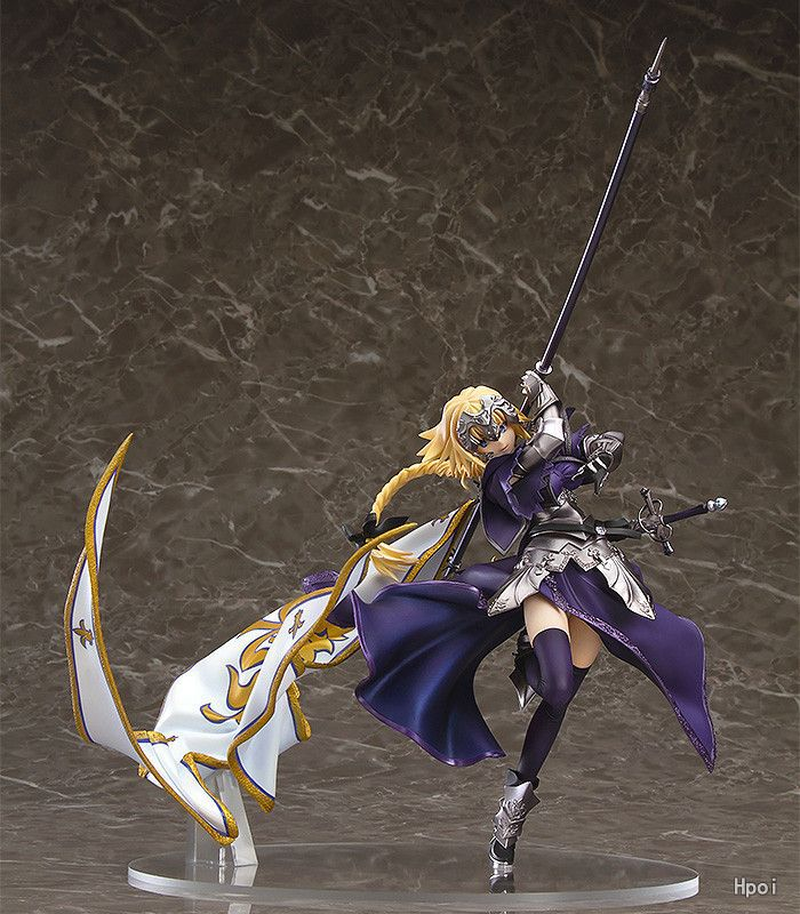 Anime Fate/Apocrypha Jeanne d'Arc Ruler Alter Saber Lily 1/8 Scale Painted PVC Action Figure Collection Model Toys Doll 19cm sexy alter guilty gear xx accent core dizzy 1 8 pvc figure action