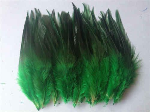 ¡Calor! Envío Gratis venta de 50 Uds. Plumas de faisán azul, 10-15cm de largo, decoración de joyería DIY