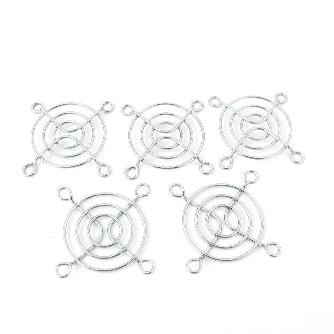 Gtfs Hot 5 Pcs 4cm Diameter Axial Dc Fan Grill Metal Pc