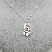 American Pitbull dog pendant necklace – fashion cute necklace