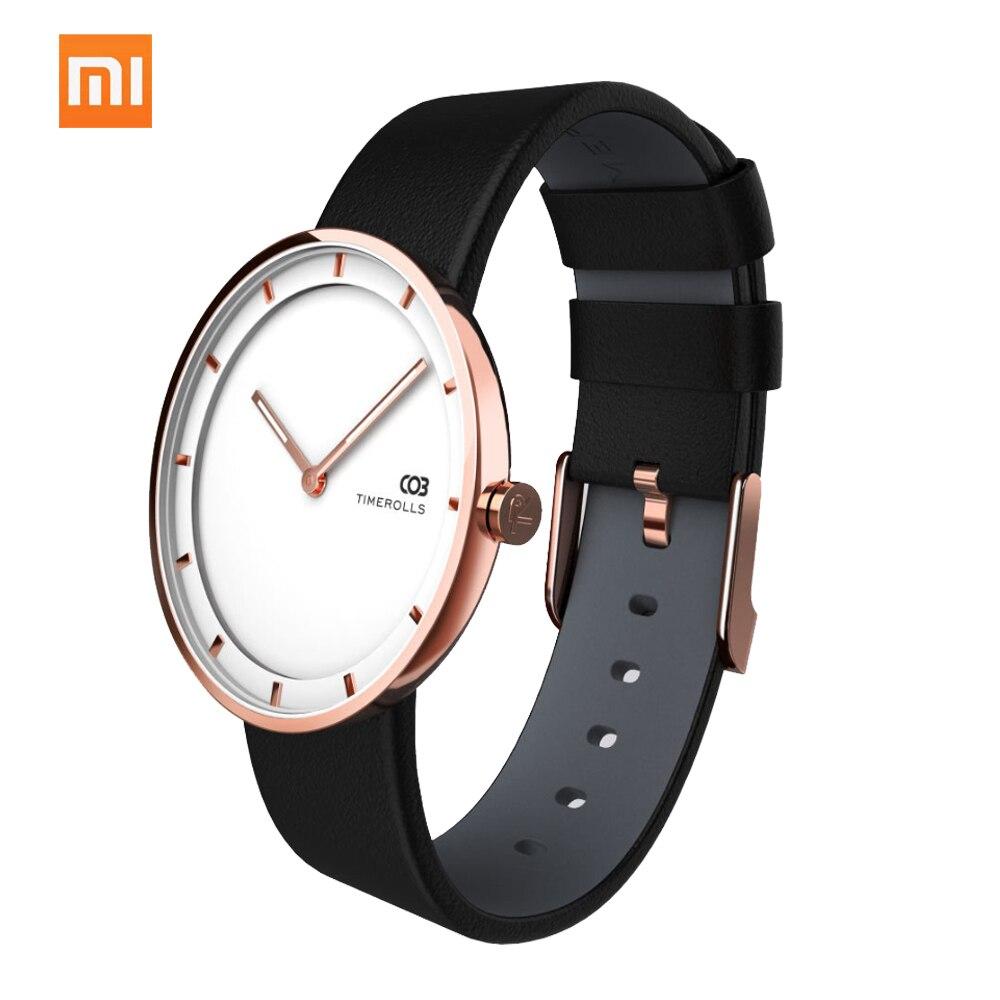 Original Xiaomi Youpin TIMEROLLS COB Wrist Watch Men Women Time Track Quartz Watch AD WQ0118B 3colors
