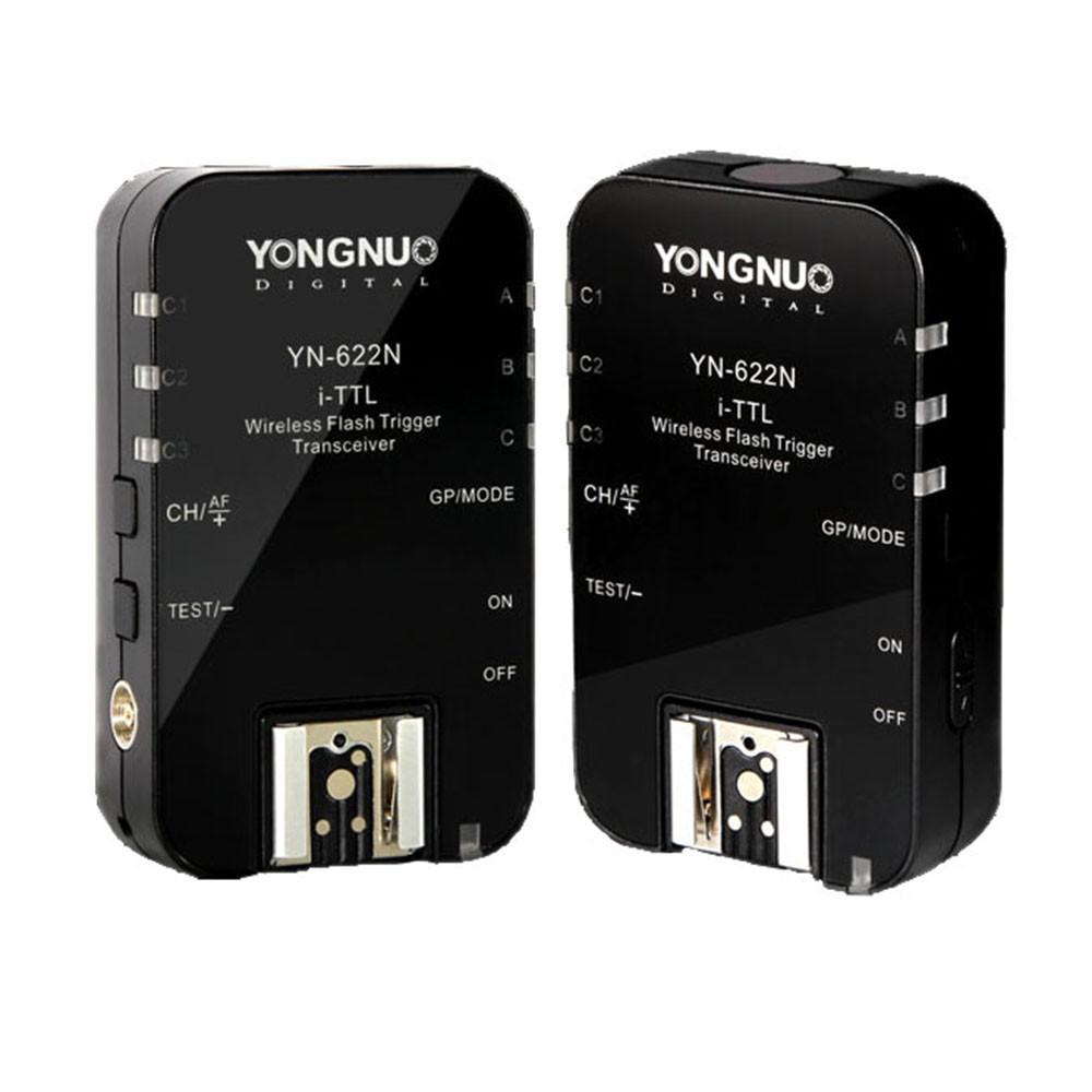 Yongnuo-YN-622N-YN-622-Wireless-I-TTL-ITTL-HSS-1-8000S-Flash-Trigger-2-Transceivers