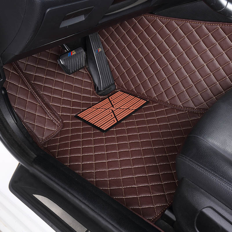 Custom car floor mats for Land Rover Discovery 3/4 freelander 2 Sport Range Rover Sport Evoque 3D car styling carpet liners