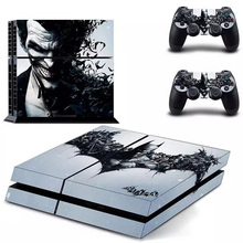 Batman PS4 Sticker skin For Sony Playstaion 4 Game console controller Skin Sticker PS 4 accessories