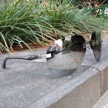 LVVKEE logo HD mirror Aviator sunglasses Polarized Men Polaroid Lenses women Sports goggles Night vision c10 blue retro Fashion