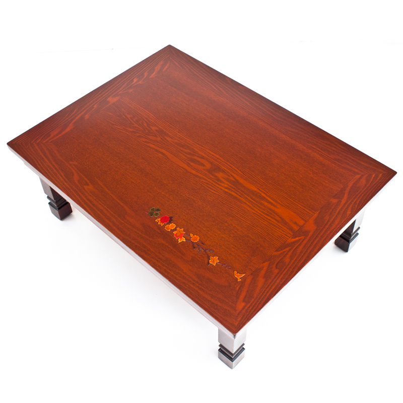 Antique Sofa Center Table Folding Leg Rectangle Living Room Furniture Japanese Korean Center Laptop Wood Console Table Foldable