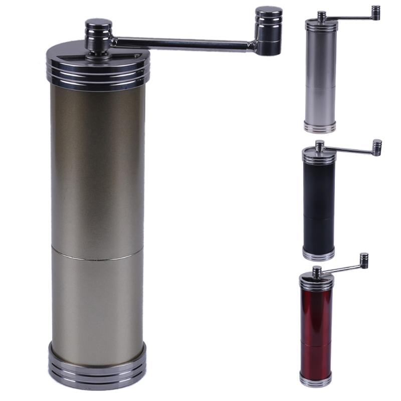 Mini Manual Coffee Grinder Portable Stainless Steel Hand Coffee Grinding Machine Kitchen Tool for Househeld Grinding fimei multifunctional manual coffee grinder vacuum cup portable stainless steel funnel filter ceramic grinding mechanism