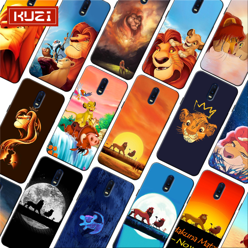 The Lion King Simba Animal Cute Cartoon Soft Silicone Phone Case for font b oneplus b