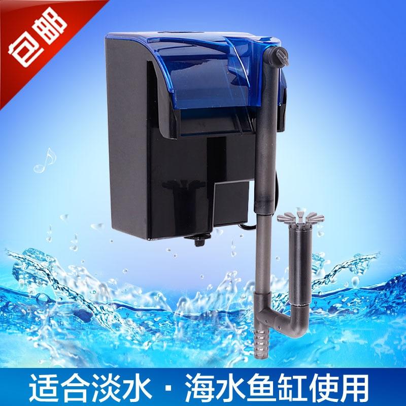 Waterfall External Filter Small Fish Tank Aquarium Wall