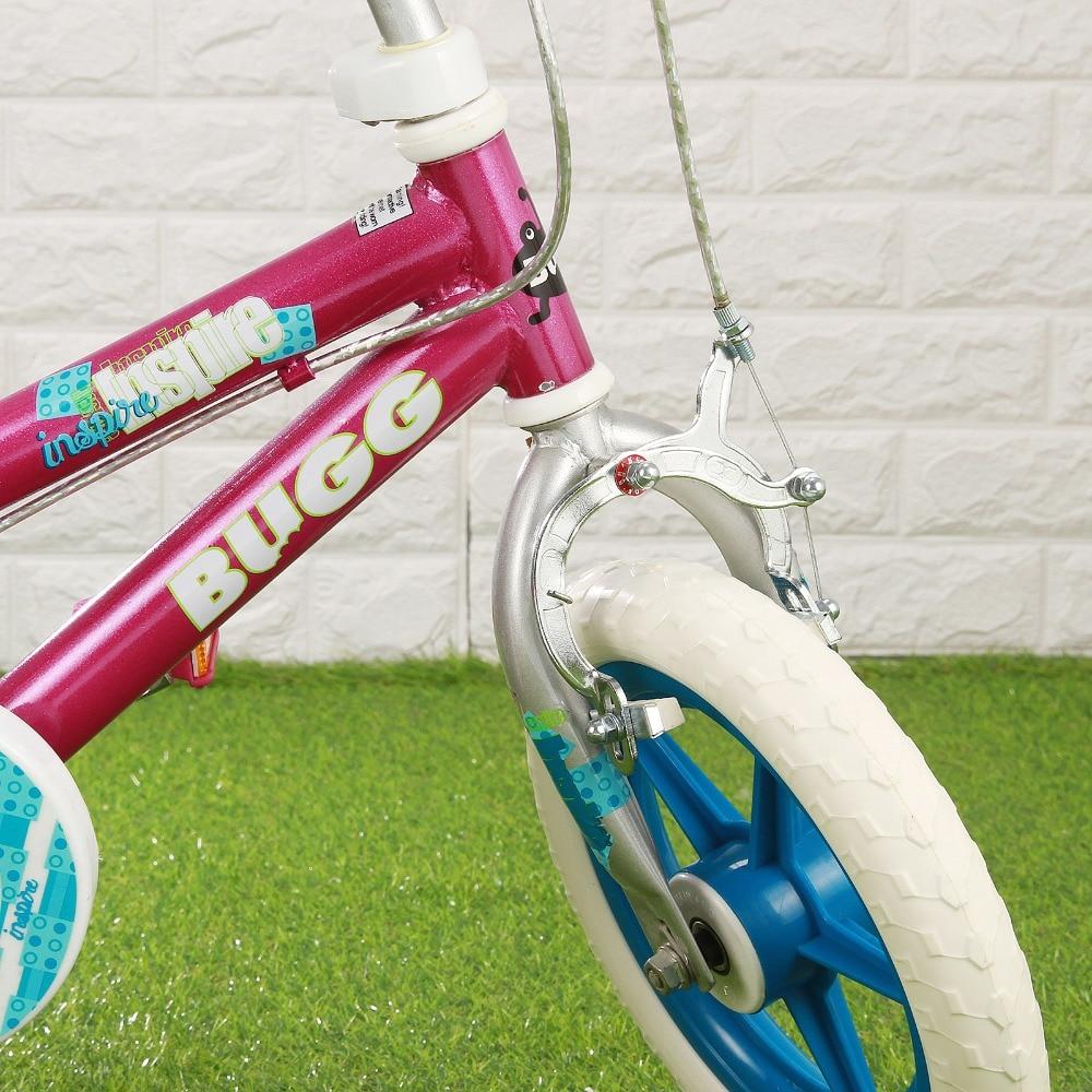 BUGG 12 Фиолетовый детский велосипед Велоспорт детский велосипед кататься на велосипеде тренировочные колеса - 2