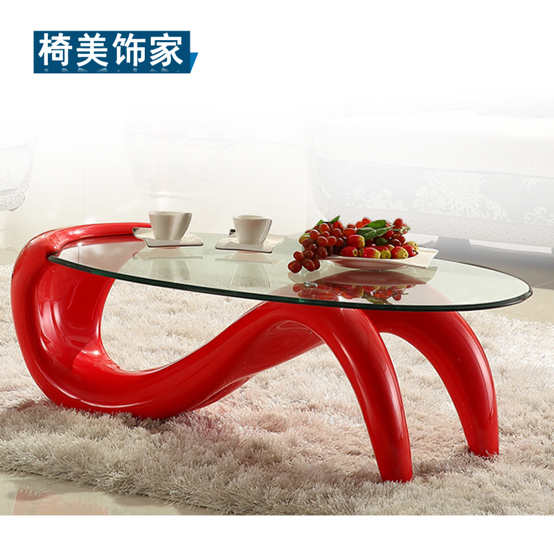 aliexpress : buy cheap minimalist modern oval coffee table