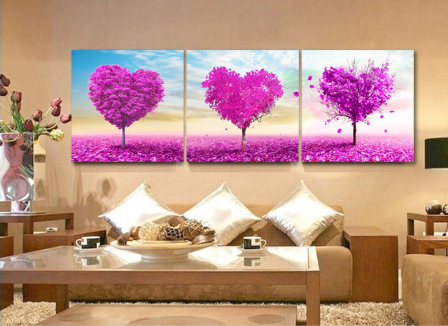 3 Panel Wall Art Painting Wall Hanging Canvas Picture Paint Modern ...