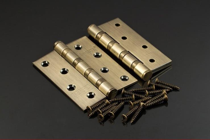 2 шт./партия, античные медные петли из нержавеющей стали 304, дверные петли, античные деревянные дверные петли