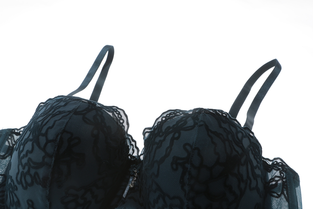 0300876f483 Pretty Mary Women Push Up Bra Perfect Shape Bra and Panties Sets Sexy Lace  Trim Lounge Bra Lace Underwear-in Bra   Brief Sets from Underwear    Sleepwears on ...