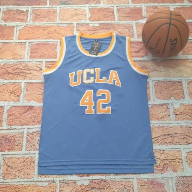 more photos f7559 2a6e4 authentic bruins 42 kevin love blue basketball stitched ncaa ...