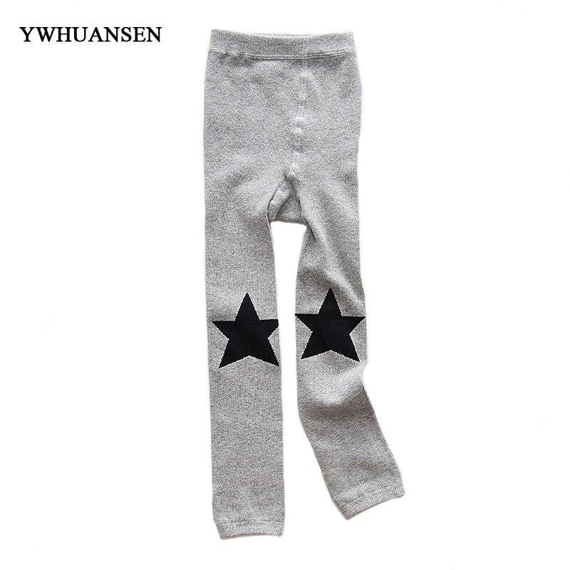 YWHUANSEN Autumn Winter Leggings For Girls Cotton Pants For Boys Clothes For Girl Cute Cartoon Legging Infantil Para Menina Kids