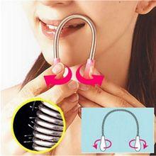 1 шт. новое устройство для удаления волос на лицо тяните лицевые, деликатные, красивые микро-весенние женские эпиляторы для удаления волос