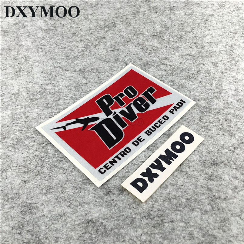 Car Styling Pro Diver CENTRO DE BUCEO PADI Stickers Scuba Dive Shark Fish Tank Decals Vinyl