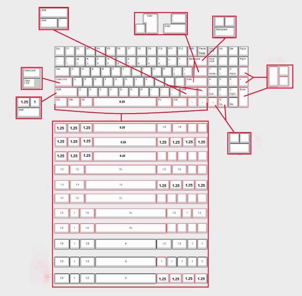 90% Mechanical Keyboard Kit