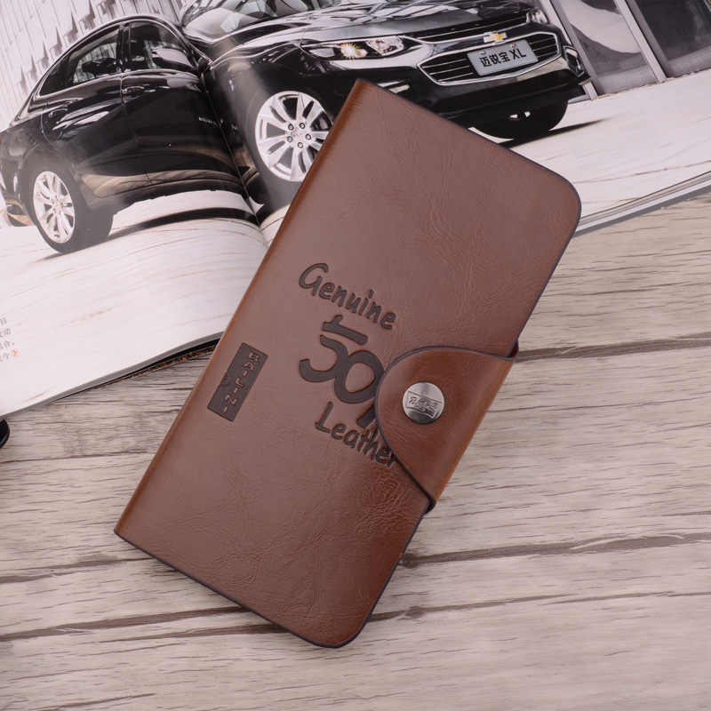 Винтажный Классический мужской кошелек Bailini 501, известный бренд, длинный кожаный бумажник, мужской кошелек, держатель для карт, клатч, кошельки для мужчин