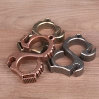 Self-defense Glove Finger Buckle  EDC Tools Tiger Fist Outdoor Camping Multi Tools Knuckles